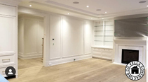 Vella Contracting Wainscoting Family Room