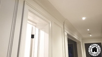 Vella Contracting Wainscoting Hallway Recessed Moulding