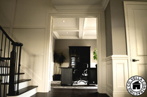 Vella Contracting Wainscoting Coffered Ceiling Mouldings