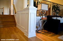 Vella Contracting Applique wainscoting