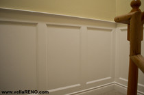 recessed wainscotting