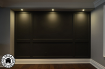 Accent Wall Trimwork and Moulding Lighting LED